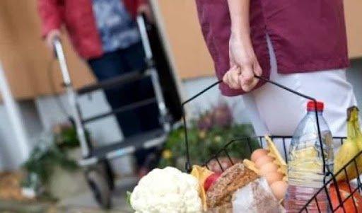 Spesa a domicilio per persone fragili